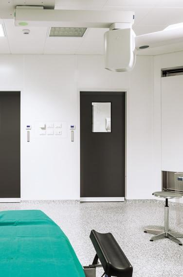 porte étanche pour hôpital et laboratoire, porte hermétique salle blanche